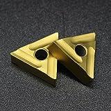 ELECTRONIC-MEI 10 PZ TNMG160404 R Utensili per tornitura Esterni Inserto in Metallo Duro Tornio Utensile per tornitura