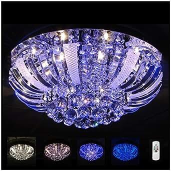 lustre plafonnier cristal led las vegas 60 cm luminaires et eclairage. Black Bedroom Furniture Sets. Home Design Ideas