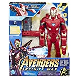 Avengers: Infinity War - Iron Man Mission Tech Titan Hero con Accessorio (Personaggio, Action Figure), E0560103