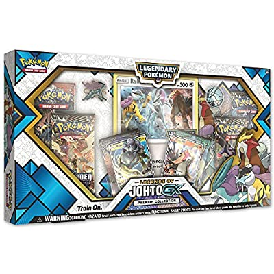 Pokemon TCG: Legends of Johto GX Premium Collection de Pokemon