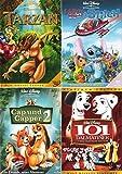 Walt Disney Collection 2 | Tarzan - Special Edition + Leroy & Stitch + Cap und Capper 2 + 101 Dalmatiner - Platinum Edition (4-DVD | 6-Disc)