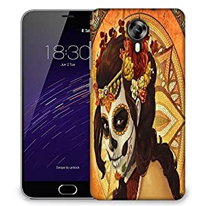 Snoogg tribal chic Designer Protective Back Case Cover For Meizu M2