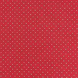 Baumwollstoff Trachtenstoff Punkte rot beige Ø1mm 1,4m