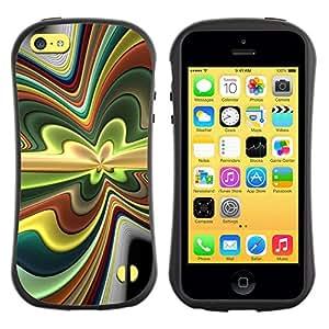 Weich TPU GEL Silikon HandyHülle Tasche Schutzhülle Hülle Für Apple Iphone 5C / CECELL Phone case / / Abstract Psychedelic /