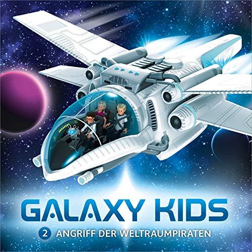 Galaxy Kids - Angriff der Weltraumpiraten (2) (Galaxy Kids (2), Band 2)