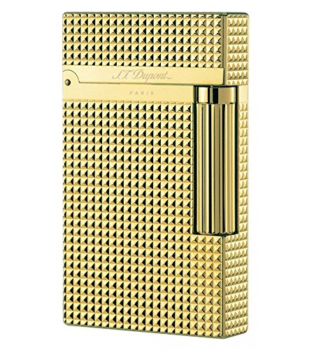 new-st-dupont-16284-gold-line-2-lighter-iconic-diamond-head-pattern-15-mm