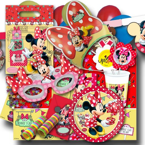 set XXL (Minnie Mouse-pappteller)