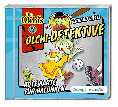 Olchi-Detektive 2 Rote Karte für Halunken (CD): Hörspiel, ca. 60 Min. (Karten Und Ca)