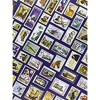 Briefmarken Einsteckbuch HOBBY, 16 weiße Seiten, Einband mit Breifmarkenmotiven, DIN A 4