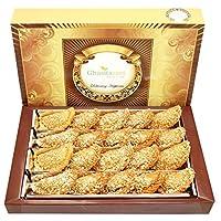 Ghasitaram Gifts Holi Sweets-Ghasitaram's Roasted Oats Gujiya 800 GMS