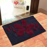 #7: Generic India Fab Pure Cotton Anti Skid Water Obsorbing Door Mat - 20 inch x 30 inch, Multi Color