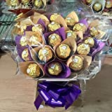 Ferrero Rocher Chocolate Bouquet - Sweet Hamper Tree Explosion - Perfect Gift
