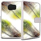 YOUNiiK Booklet Case Tasche (weiß) für Samsung Galaxy S6 SM-G920F - Wave Energy