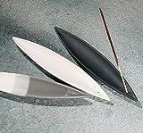 1 Stück Räucherstäbchenhalter Canoe Keramik in 3 Farben