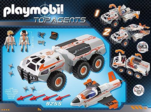PLAYMOBIL 9255 - Spy Team Battle Truck - 3