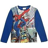 Spiderman Langarmshirt Jungen Marvel Shirt