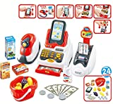 #7: Vivir High Quality Cash Register Play Set Toys for Kids ( Supermarket Cash Register Set for Kids )