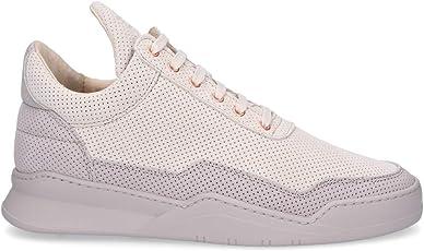 Filling Pieces Herren 1012047 Grau Leder Sneakers
