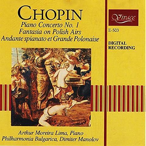 Chopin: Piano Concerto No. 2, Fantasia on Polish Airs, Andante spianato et Grande Polonaise