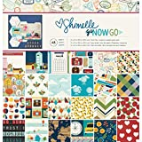 American Crafts Kit de Scrapbooking Go Now Go por Shimelle