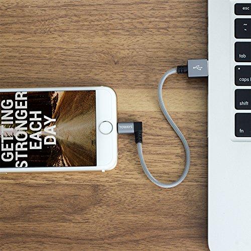iphone ladekabel toways lightning kabel apple mfi. Black Bedroom Furniture Sets. Home Design Ideas