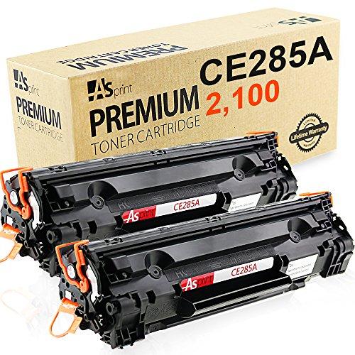 Preisvergleich Produktbild ASprint 2 XL Kompatible Toner CE285A CE285 CE 285A HP Tonerkartusche Drucker Schwarz 2,000 Seiten Verwenden für HP Laserjet Pro P1102 P1102W M1210 M1212 M1212NF M1213NF M1217NFW M1130 M1132 M1134 M1136 P1100 P1101 P1103 P1104 P1104W P1106 P1108