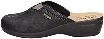 inblu, Pantofole Aperte sul Retro Donna Blu, BJ-106, Punta Chiusa Woman Tessuto