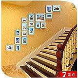 Galleria fotografica X&L Combinazioni creative di parete telaio in legno massello parete cornice irregolare arredi scala semplice e...