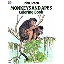 Monkeys and Apes Coloring Book (Dover Nature Coloring Book) by John Green (2013-08-21)