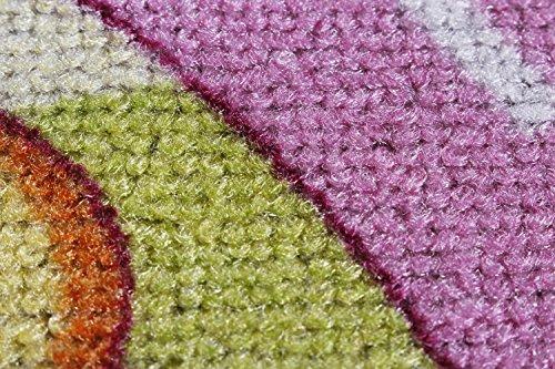 Straßenteppich/Spielteppich Sugar Town, Pink, Rosa, GUT/Prodis geprüft, weich, Größe:100x165cm - 2