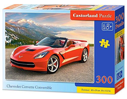 castorland-chevrolet-corvette-convertible-puzzle-puzzle-premium-300-multicolore