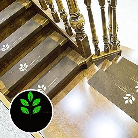 sunnymi Treppenmatten/Anti-Rutsch-Gummi-Träger/Thick Premium Skid-Resistant/Holzfliesen und Marmor/Teppich Treppengreifer Set Von 5