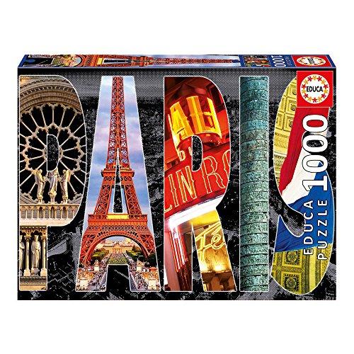 Educa 16757 - 1000 Paris Collage, Puzzle