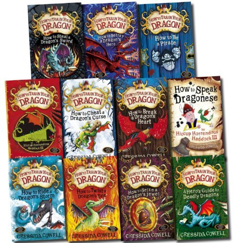 Hiccup How to Train Your Dragon 11 Books Collection Set (How to Betray a Drag...