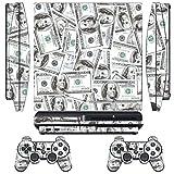 DesignSkin/Designer-Folie für Sony PlayStation PS3 SLIM System & Controller -