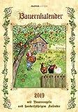 Bauernkalender 2019 - Bildkalender (24 x 34) - mit Bauernregeln und 100-jährigem Kalender