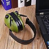 Cewaal Tactical Earmuffs Anti-Lärm-elektronische Falten Ohrenschützer für Gehörschutz Gehörschutz Jäger-Shooter