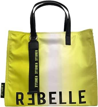 Rebelle borsa in nylon giallo free to choose.