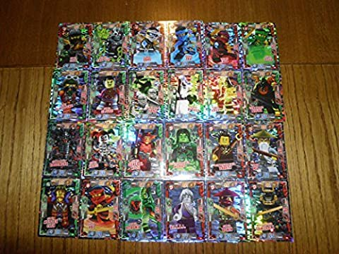 LEGO Ninjago 2 (Serie 2) Tous 24 Super Holo
