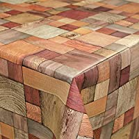 Hule, mantel, diseño de madera, tamaño a elegir, plástico, sättige, beständige Farben, 240 x 140cm