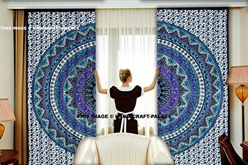 Handicraft-Palace Indian Cortina Puertas Ventanas