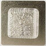 Kahlert Licht 10355 - LED Wandlampe Kristalldeckel, metall