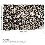FORWALL DekoShop Vlies Fototapete Tapete Vliestapete Leopard Muster AD190VEXXXL (416cm x 254cm) Photo Wallpaper Mural