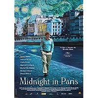 Póster Midnight in Paris
