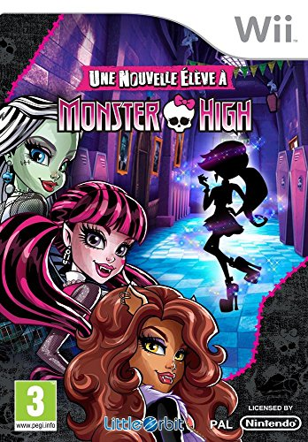 MONSTER HIGH NOUVELLE ELEVE WII FR