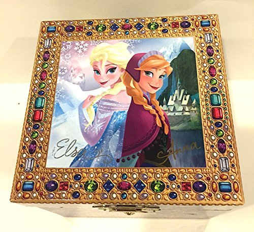 (Disney Parks Frozen Elsa Anna Musical Jewelry Box NEW by Disney)