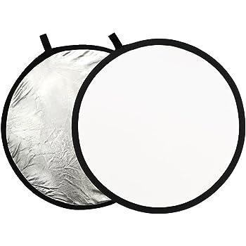 Neewer 1230cm 2 In 1 Gold Silver Portable Circular Amazon Co Uk