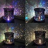 Zmw renk değiştiren-yıldız-Beauty-yıldızlı gökyüzü projektör gece lambası (3x AA, nadir renk)