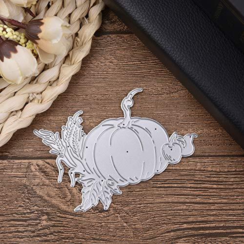 Halloween Kürbis Cutting Dies, Metall Stanzmaschine Stanzschablone Stanzformen Schablonen DIY Scrapbooking Handcraft Fotoalbum Papier Karten