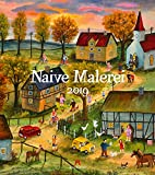 Naive Malerei 2019, Wandkalender im Hochformat (48x54 cm) - Kunstkalender mit Monatskalendarium